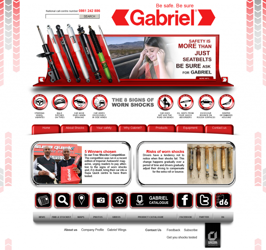 Gabriel Launches New Interactive Website