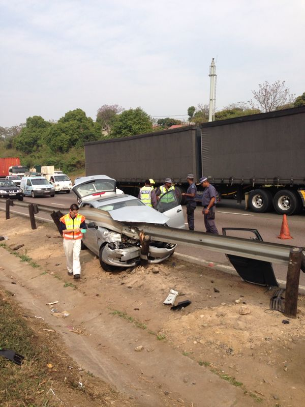 Six injured following a motor vehicle collision on the N2 north bound