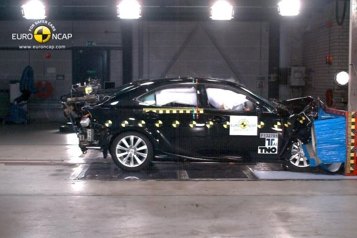 New Lexus IS awarded top Euro NCAP safety rating