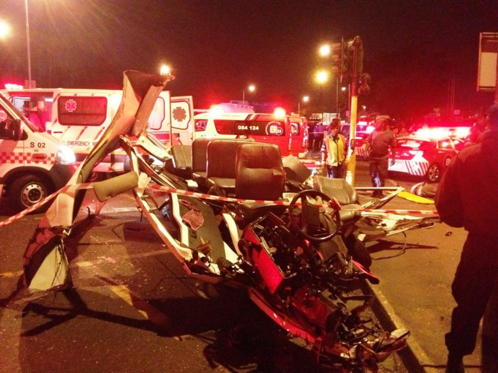 24 Dead and 26 injured in multiple vehicle pile up in Pinetown