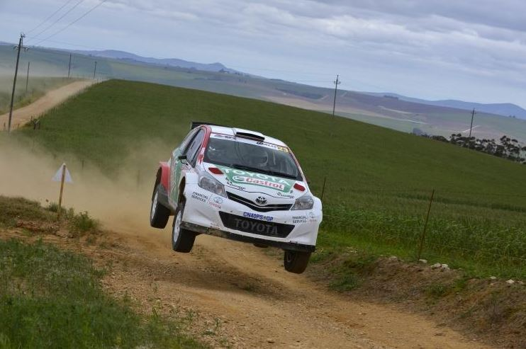 Toyota Yaris Shines in Toyota Cape Dealer Rally in Western Cape