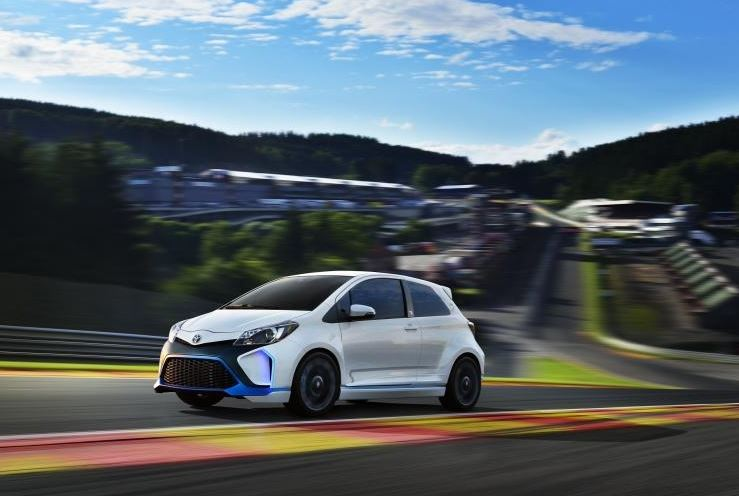 First images of Toyota's wild eco warrior, the Yaris Hybrid-R, emerge
