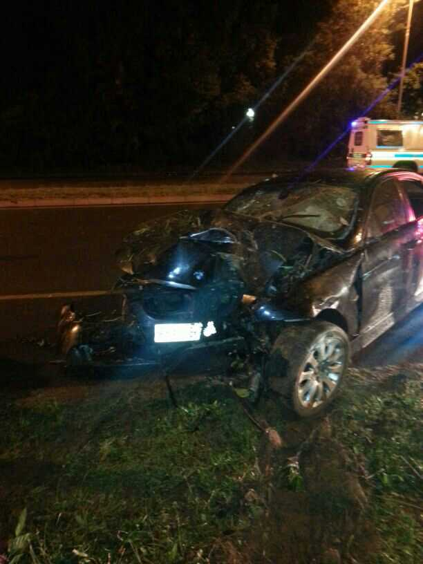 Six injured in motor vehicle collision on the M4 north near Virginia
