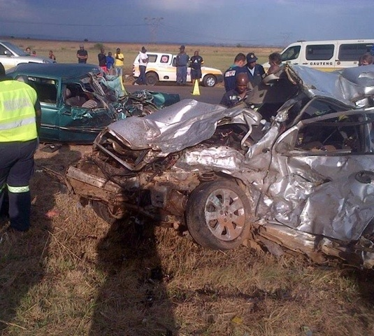 Seven dead in collision on the R82 just before Roshnee in the Vaal