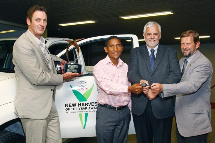 Top Young Farmer Awarded With a Hilux