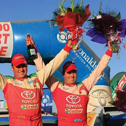 Toyota South Africa Motors and Castrol South Africa know how to achieve on gravel!