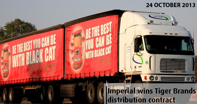 Imperial wins Tiger Brands distribution contract