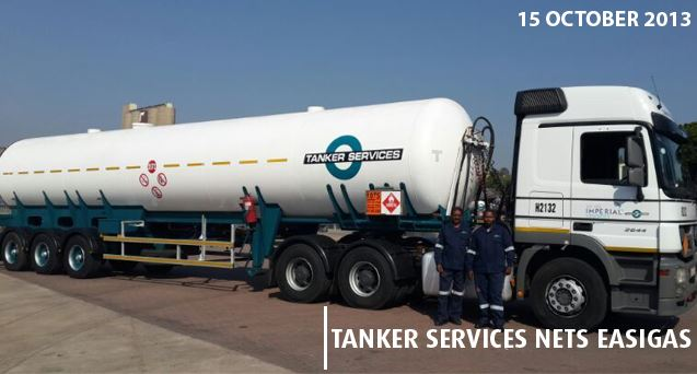 Imperial Logistics awarded another contract to transport liquid petroleum gas