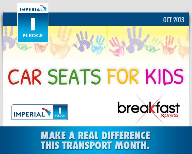 Make a real difference this transport month with your car seat for kids!