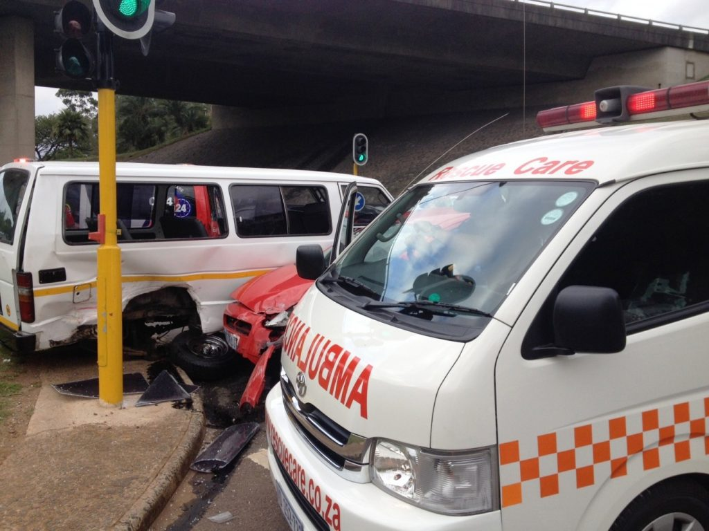 Taxi accidents leave scores injured in Durban