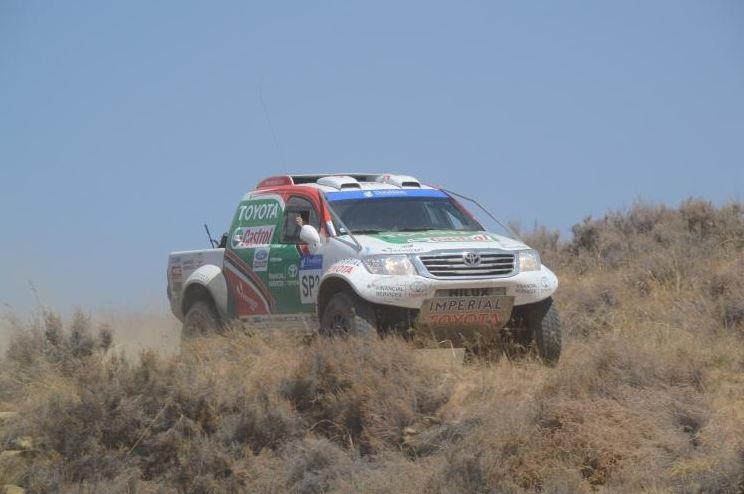 Castrol Team Toyota Wins SA Off Road Championship