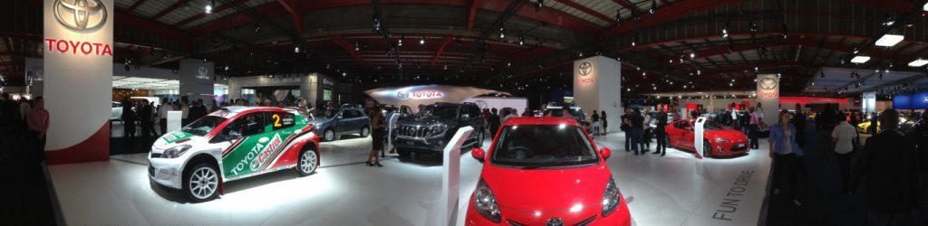 Toyota takes to the stage at Johannesburg International Motor Show (JMS)