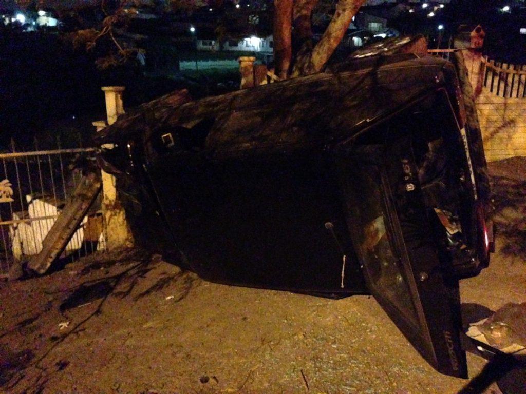 1 Injured In Newlands Crash