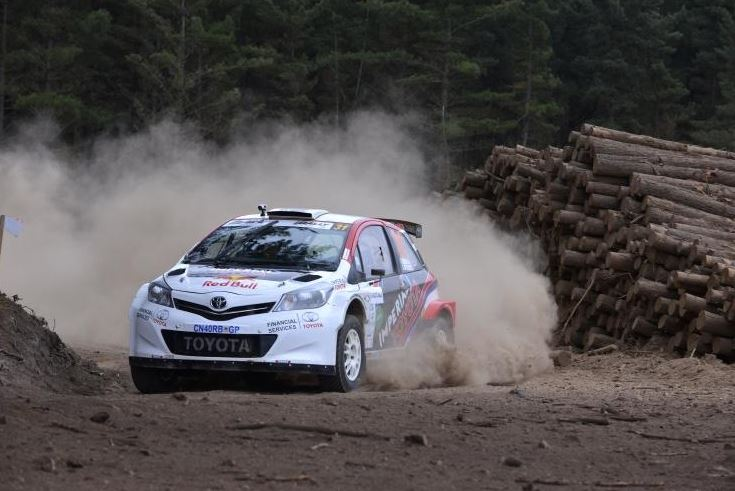 Strong Season-ending Finish For Toyota In Garden Route Rally
