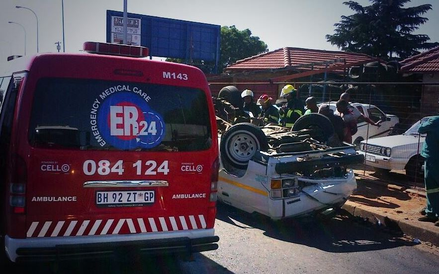 17 injured in Roodepoort collision