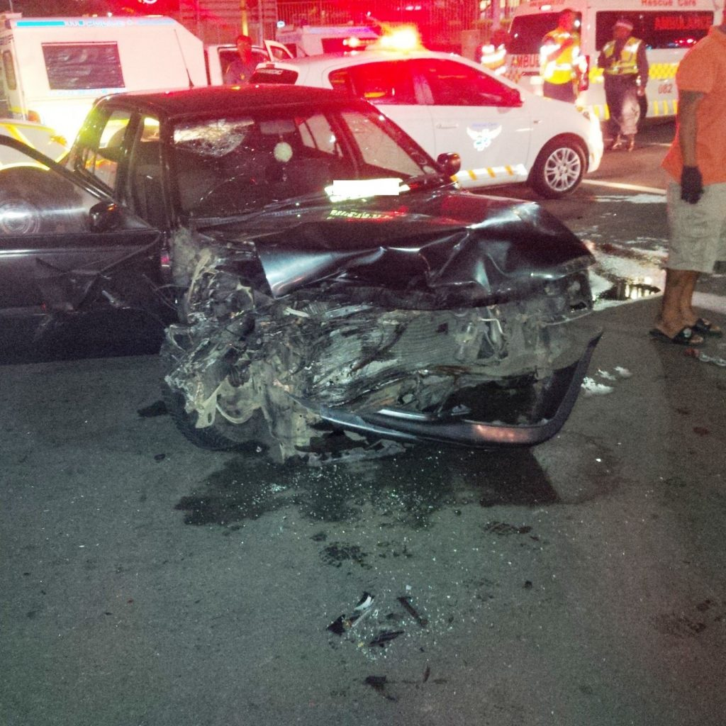 Collision at the intersection of Stanger Street and Somtseu Road leaves 4 injured