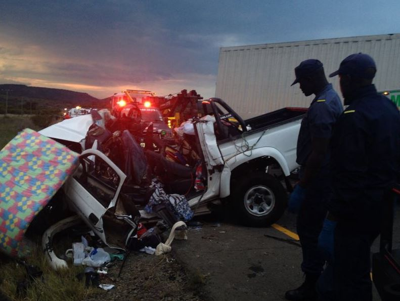 Tragic end to road trip as 8 are killed in crash outside Ladysmith