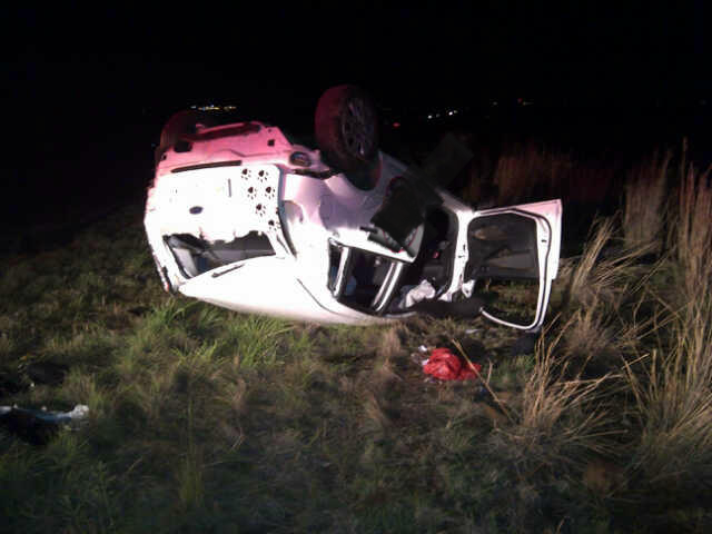 20 Year old sportsman injured after vehicle overturned outside Potchefstroom