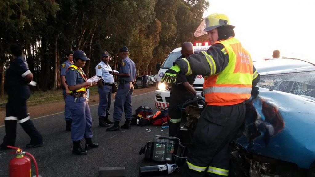 Three injured in collision on the N12 about 30 km from Potchefstroom