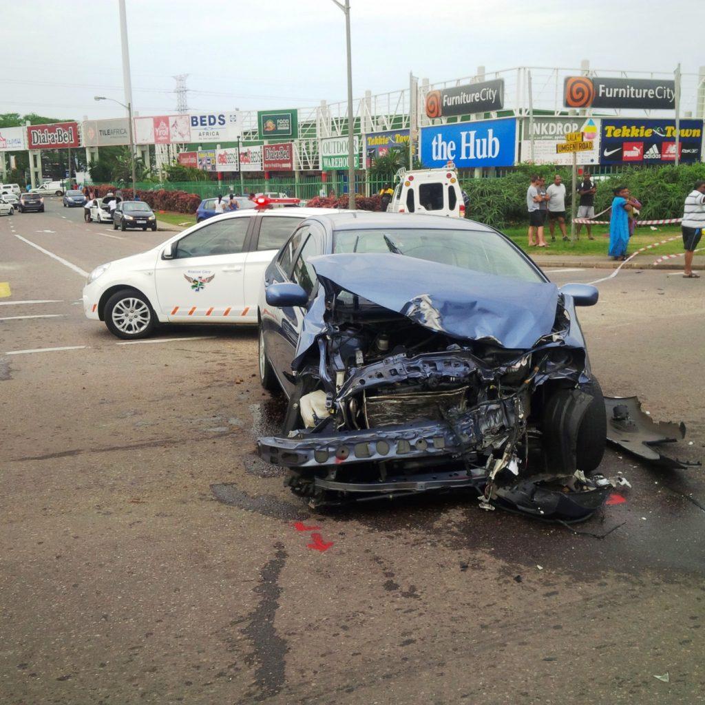 Christmas eve collision leaves 1 dead, 12 injured