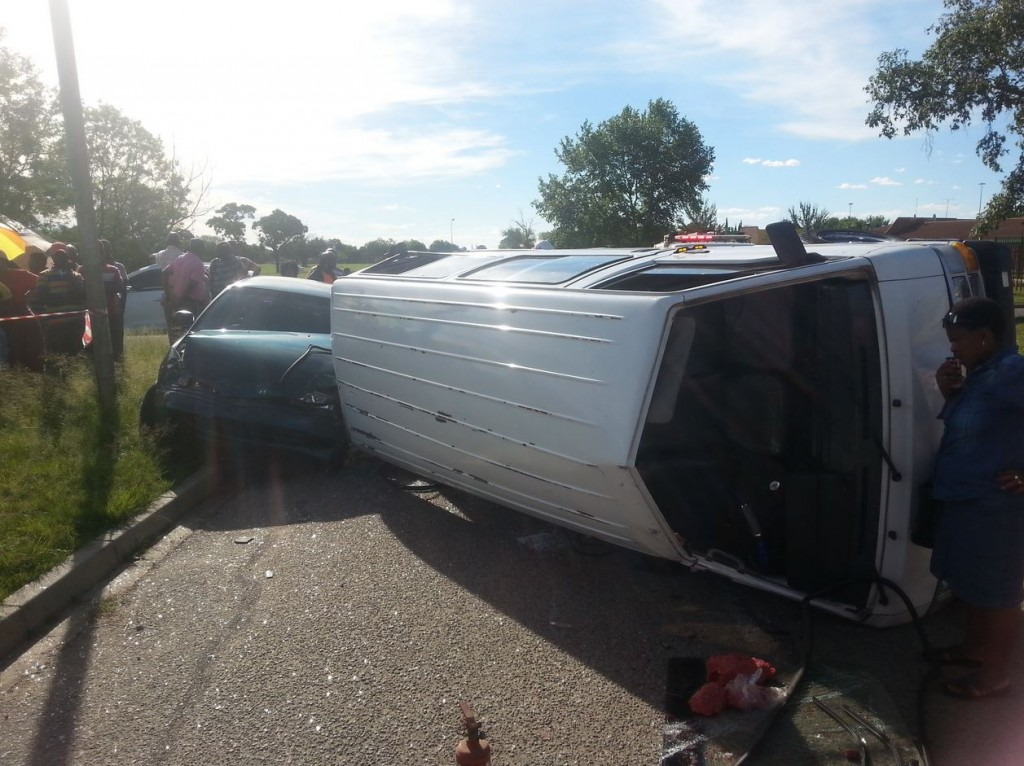 Second multiple patient scene attended by Welkom Paramedics