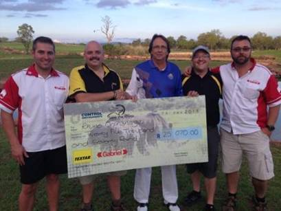 Control Instruments-Automotive Golf Day raises R25,000 for Rhino Orphanage