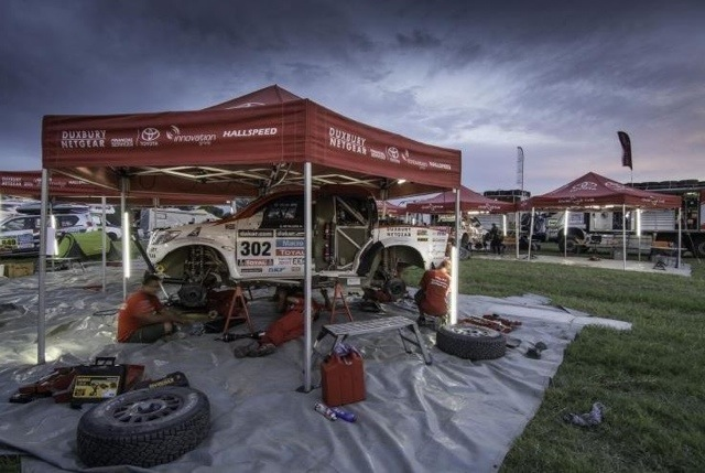 Successful First Week For De Villiers / Von Zitzewitz And Poulter / Howie In Dakar Rally