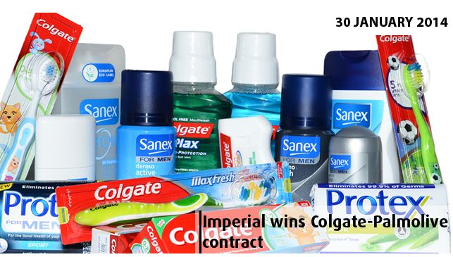 Imperial Retail Logistics awarded with contract for warehousing and distribution by Colgate-Palmolive