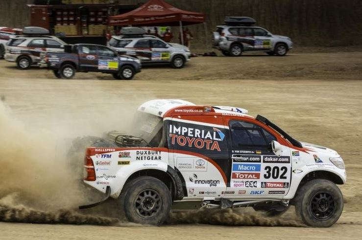 Toyota Imperial South Africa Team Good to Go for the 36th running of the Dakar Rally