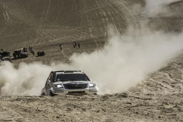 De Villiers / Von Zitzewitz 4th Overall, Poulter/Howie 33rd With One Stage Remaining