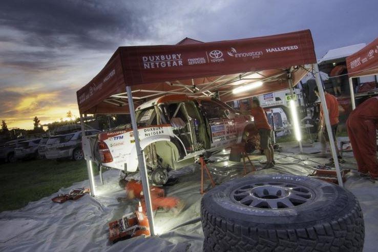 De Villiers and Von Zitzewitz Second on Dakar Stage Five