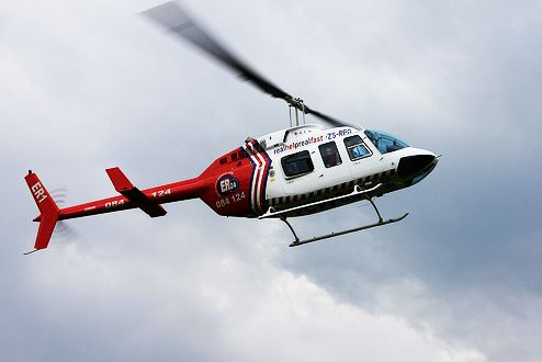 Young biker airlifted from off-road race near Fochville