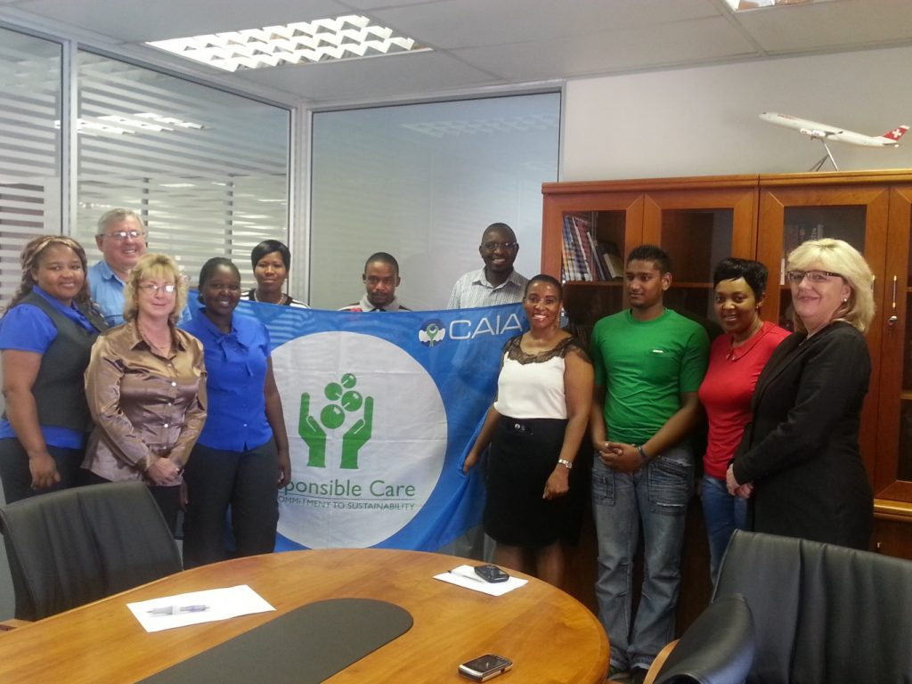NTP Logistics (Pty) Ltd signs Responsible Care Commitment
