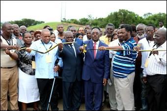 KZN Transport Department responds to the prayers of an elderly man in building Nyalazi Bridge