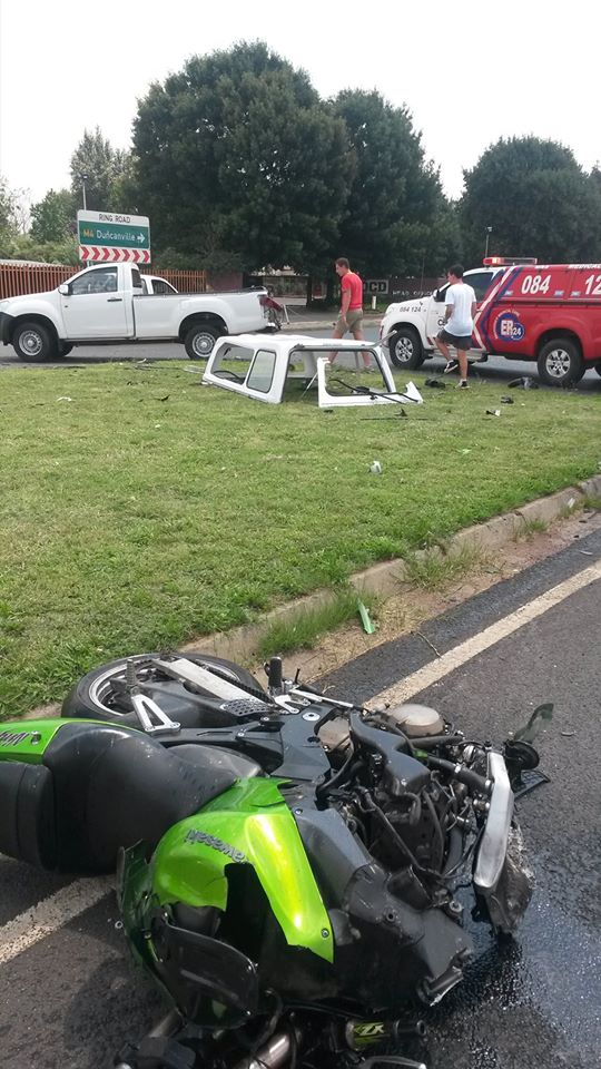 Two killed in motorbike collisions in Benoni and Vereeniging