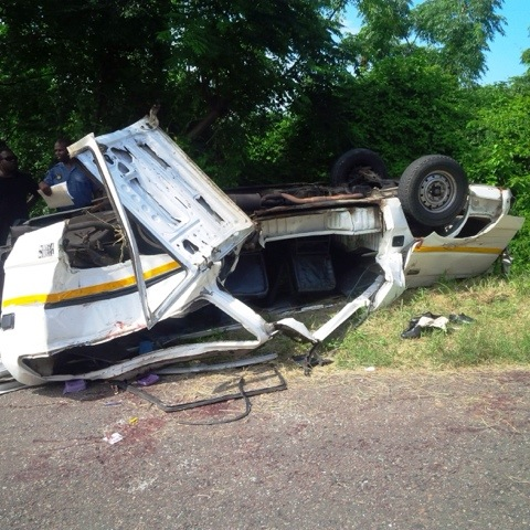 16 School Children injured in Taxi Accident Durban (photo)