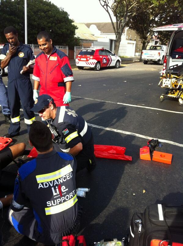 Cyclist knocked over, seriously injured on Rosemead Avenue in Wynberg