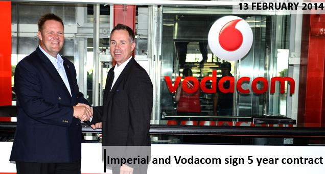 Imperial signs 5 year contract with Vodacom Business