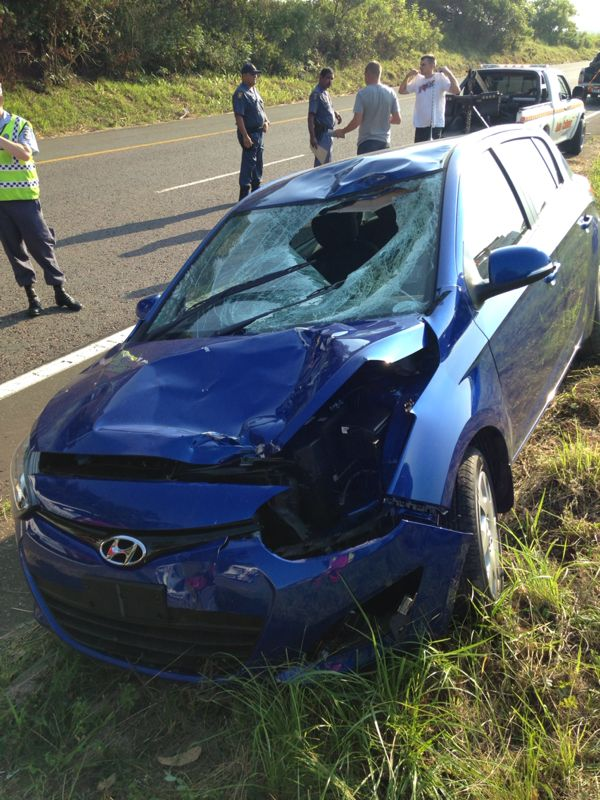 Pedestrian killed in crash on the M19 between Pinetown and Westville