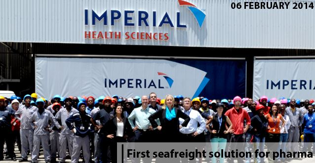 Imperial Logistics partners to launch first seafreight solution for the pharmaceutical industry in SA