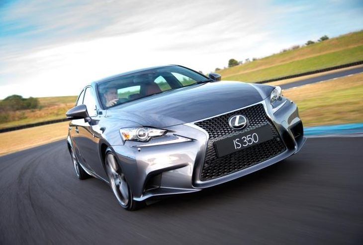 LEXUS IS 350 F SPORT - Rated best-in-class for safety by EuroNCAP