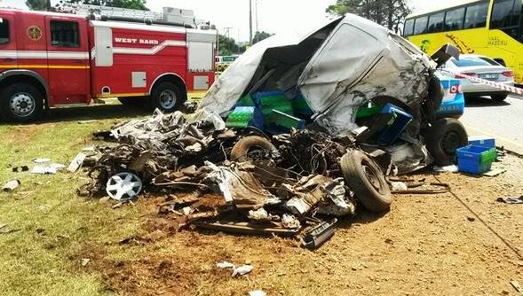 Delivery guy dies in head-on collision on the N14