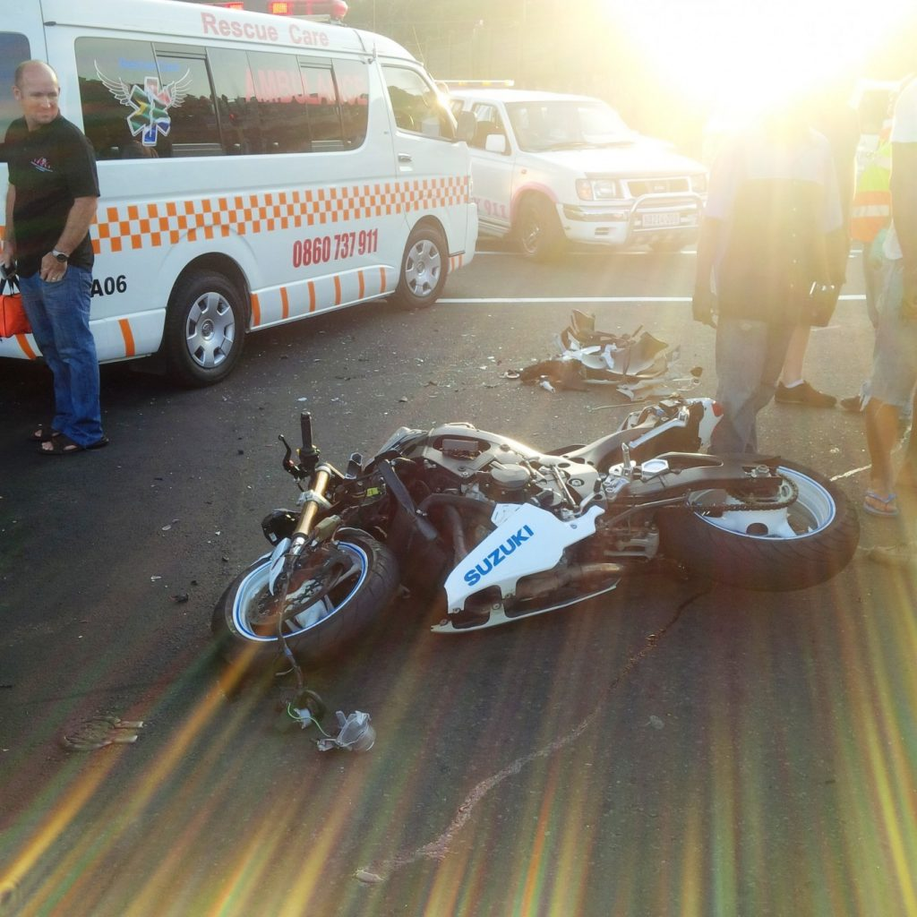 Biker killed in collision at the intersection of Mc Donald Rd and Nicholson Road