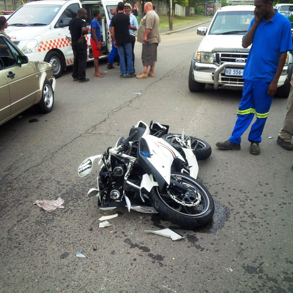 Biker collision leaves 1 seriously injured