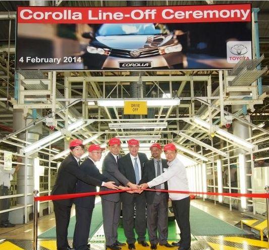 Toyota Celebrates R1 Billion Investment In New Corolla Production