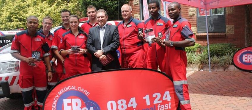 Paramedics get airtime donation from Cell C