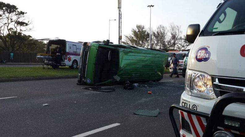 15 injured in vehicle collision at the Stanger and Argyle Road intersection in Durban