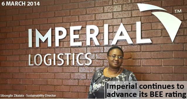 Imperial confirms commitment to transformation with advance in its BEE rating