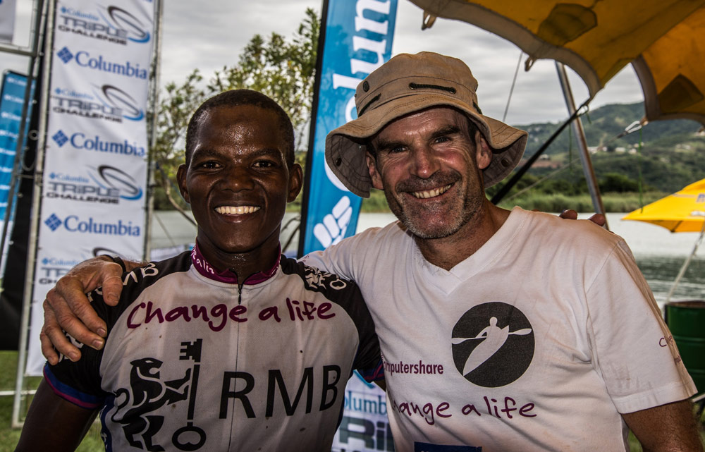 Top endurance athletes victorious in Triple Challenge