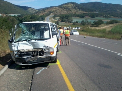 Single vehicle road accident leaves three fighting for their lives in KZN